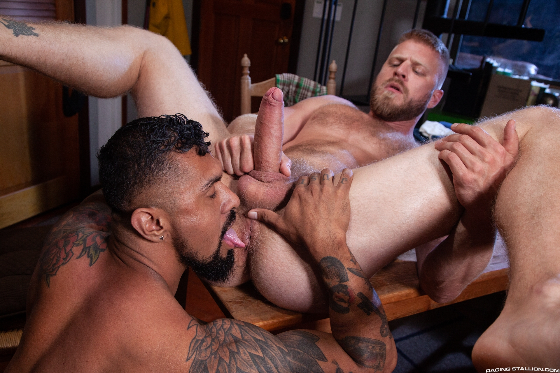 Sexy gay anal sex