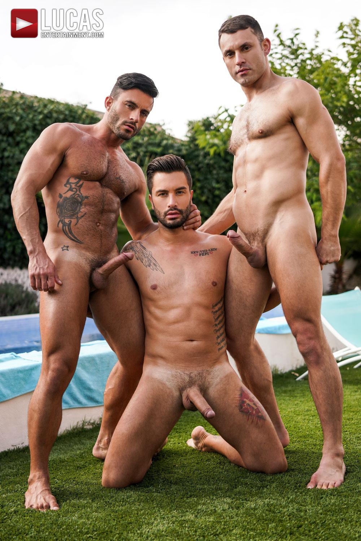 Hombres Peludos Y Musculosos Desnudos