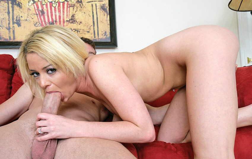 прно фото блонда